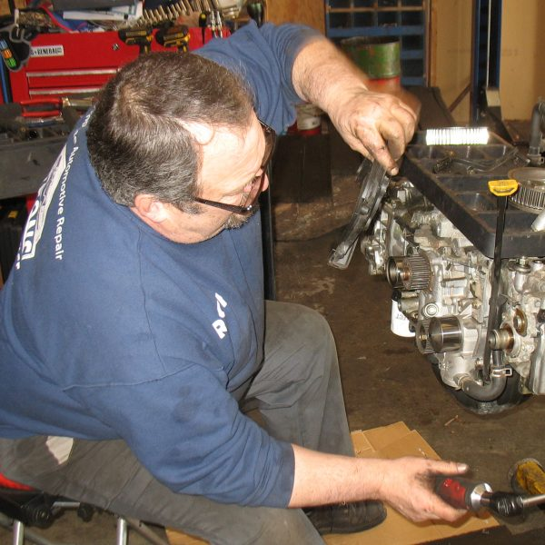 Rich working on Subaru motor (20-Apr-2017, IMG_9703) - cropped